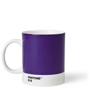One Size Ceramic Light Purple Fine China Copenhagen design Pantone Espresso Porcelana Small Coffee Cup 257 C 120 ml