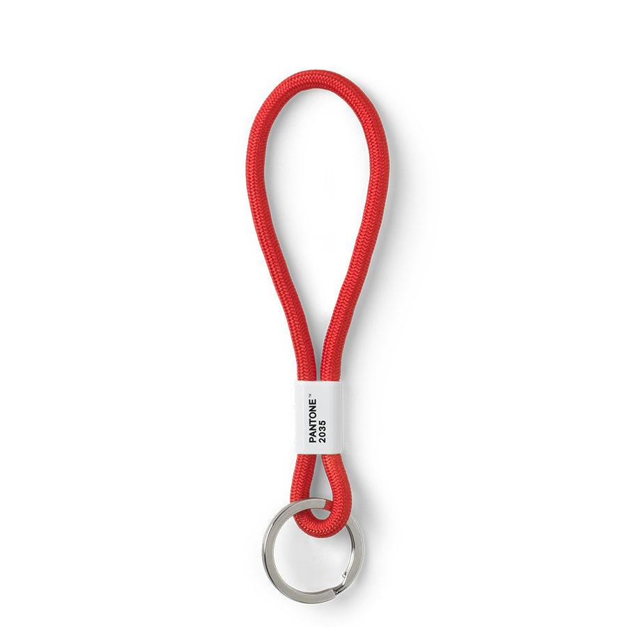 red 2035 C nylon Copenhagen design PANTONE Key Chain L long key hanger